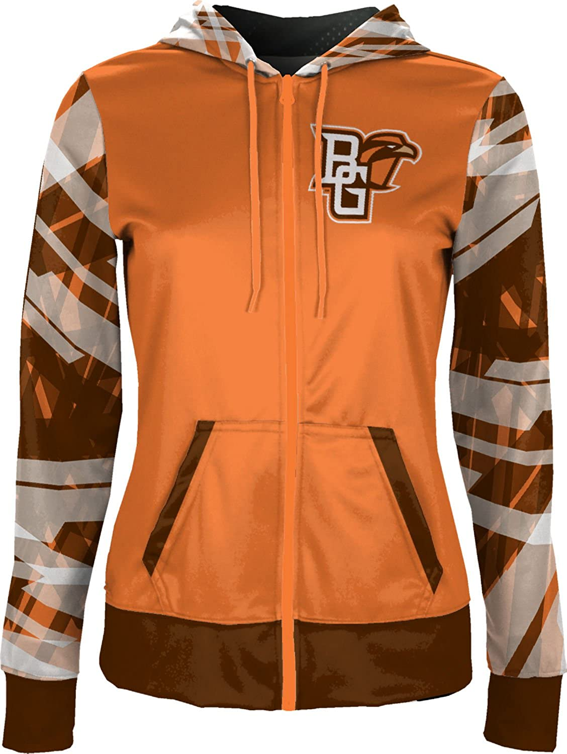 ProSphere Bowling Green State University Girls Zipper Hoodie Crisscross School Spirit Sweatshirt