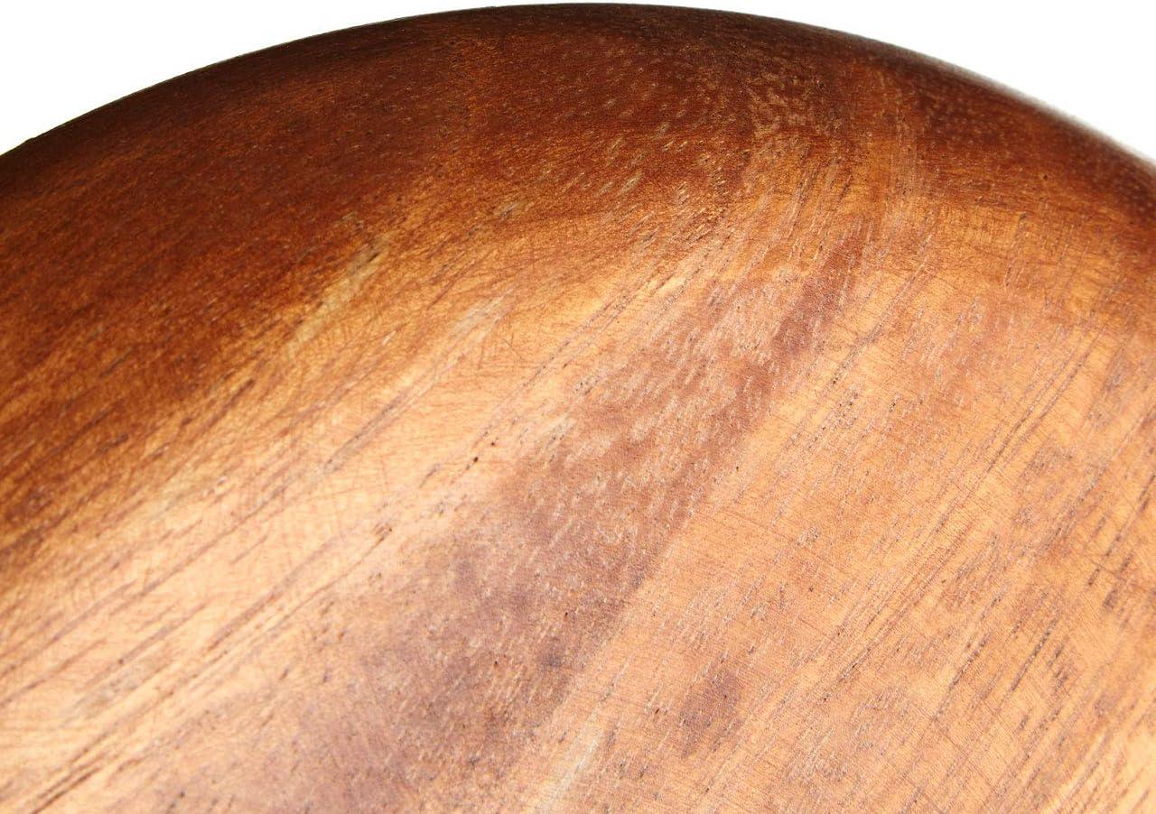 marr/ón 3 x 26 x 26 cm Premier Housewares Plato Madera de Acacia