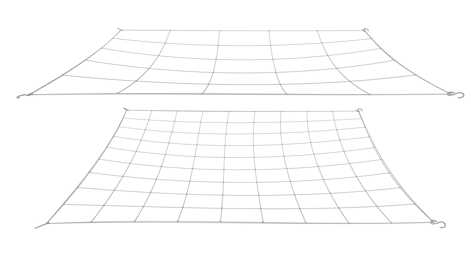 Grow tent flexible trellis net 2 pack , one size fits all.