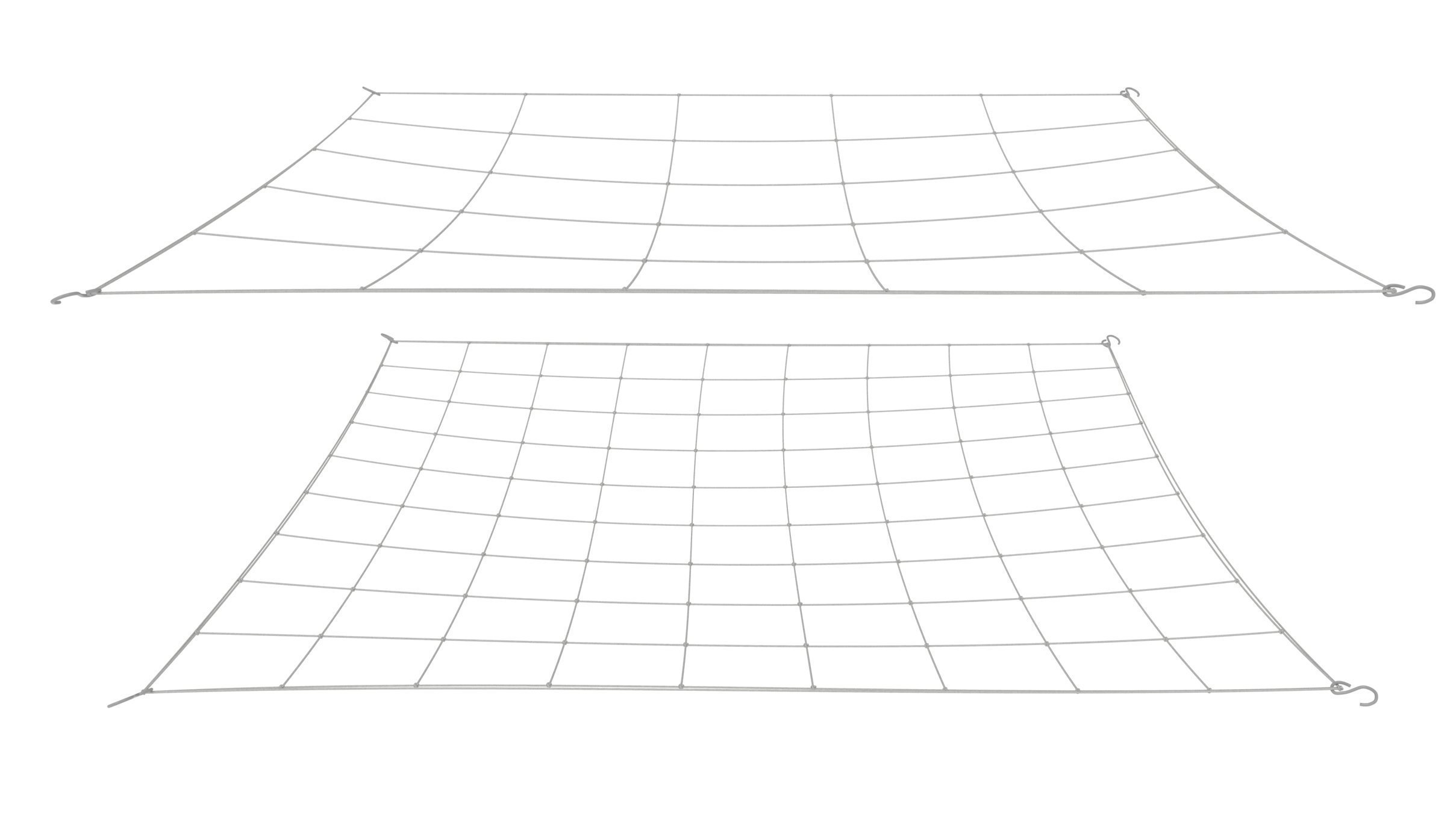 Stretchy Nets Grower Flexible Trellis net for Grow Tents