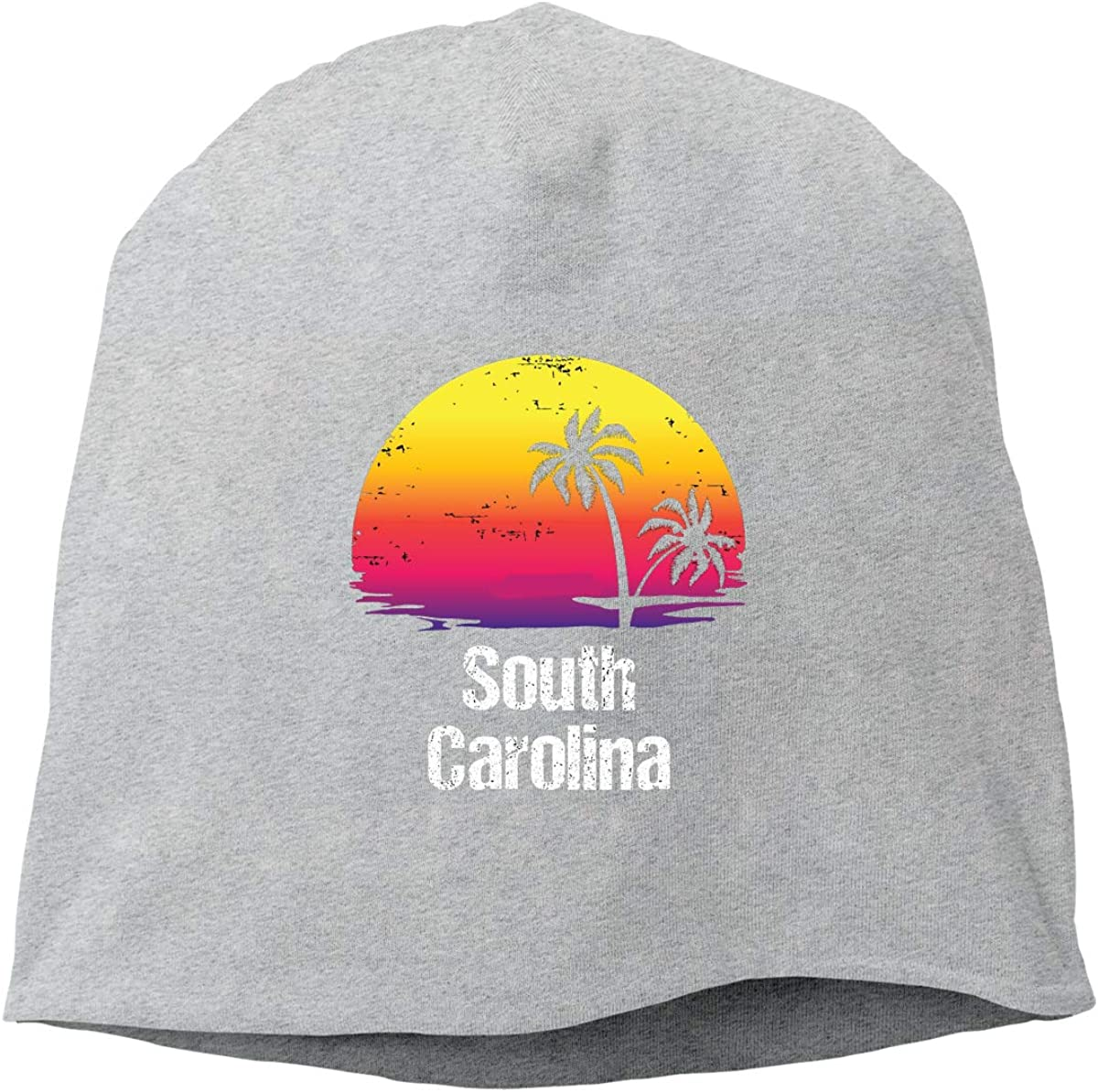 Summer Vacation South Carolina Unisex Knitted Hat Beanie Hat Warm Hats Skull Cap
