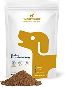 Hungry Bark - Protein Mix Ins for Dry or Wet Dog Food | for Small & Large Dog Breeds | Instant Flavor Topper & Nutritional Boost to Your Dog's Diet | Great for Picky Eaters