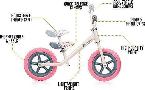 meteor Bicicleta sin Pedales Mini Bici Bebé Equilibrio con Sillín y ...