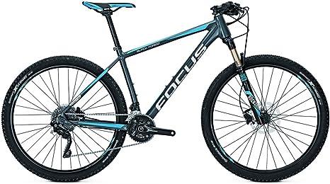 Focus Black Forest Pro 27 20G 27 Rock Shox Reba RL - Bicicleta de montaña (altura del cuadro: 46), color gris: Amazon.es: Deportes y aire libre