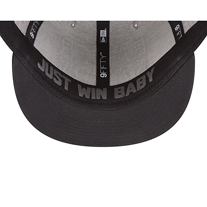 reputable site 98392 a31cf Amazon.com  New Era Oakland Raiders Official 2018 NFL Draft On-Stage  Snapback 9Fifty Adjustable Hat - Heather Grey  Clothing