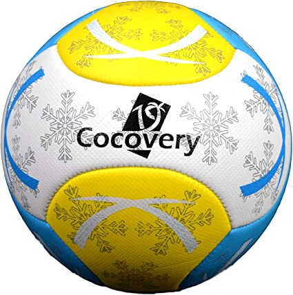 Balón Fútbol para Playa-Foam-Cocovery19 (Blanco): Amazon.es ...