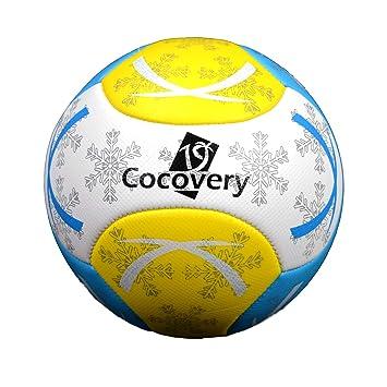 Balón Fútbol para Playa-Foam-Cocovery19 (Blanco): Amazon.es ...