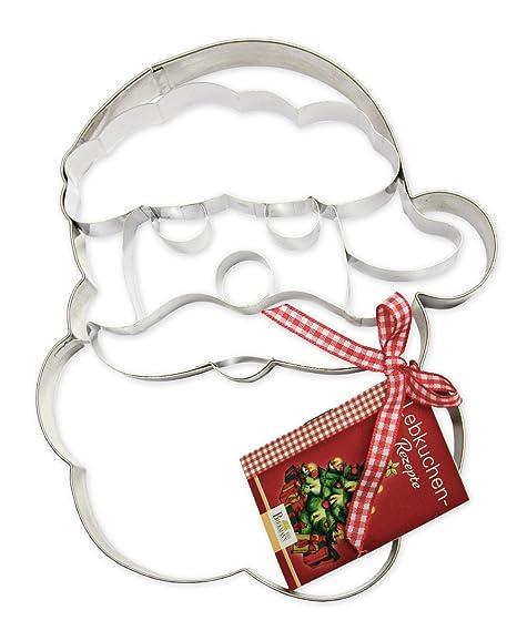 Birkmann 191310 - Molde para galletas (tamaño gigante), diseño de Papá Noel