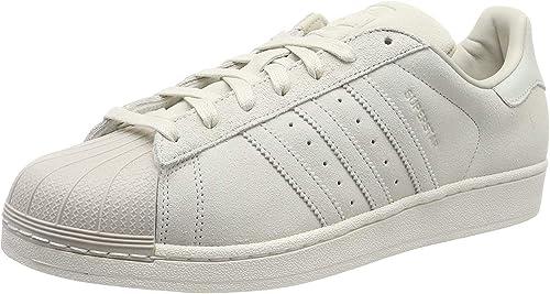 adidas Superstar, Scarpe da Ginnastica Basse Uomo, Bianco