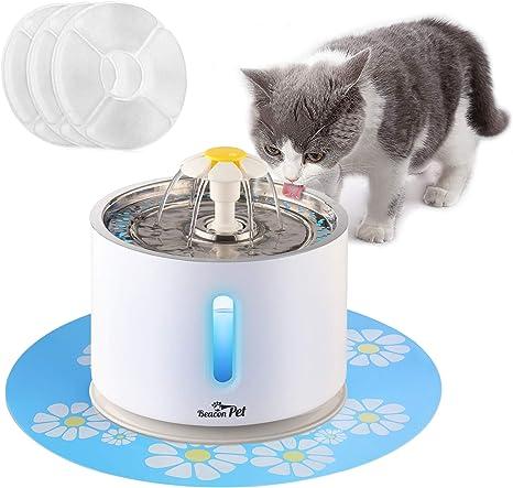 Amazon.com: Beacon - Fuente de agua para mascotas, gatos ...