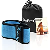 TheFitLife Resistance Bands for Legs and Butt - Fabric Resistance Bands Set for Women to Sculpt Desired Peach Shape, Exercise Bands with Carrying Bag and User Guide