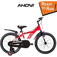 AHOY! Fitted & Ready to Ride Bicycle 20 inch Chaos for Boys (7 to 10 Years) - Red