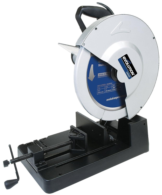 DeWalt 1.300 Watt Metallkreiss/äge Schleifscheiben-/ø 355mm, Sanftanlauf, ohne K/ühlfl/üssigkeit, ohne Schnittgeschwindigkeit, inkl. 355 HM-S/ägeblatt und Zubeh/ör DW872