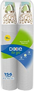 Dixie to Go Cups, 16 Ounce, 156 Count