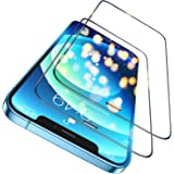 Humixx Diamond Shatterproof iPhone 12 / iPhone 12 Pro Screen Protector,[10X Military Protection] [Bubble Free] [Anti-Scratch]