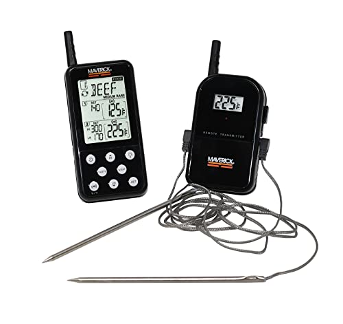 Maverick Et-733 Long Range Wireless Dual Probe Bbq Smoker Meat Thermometer