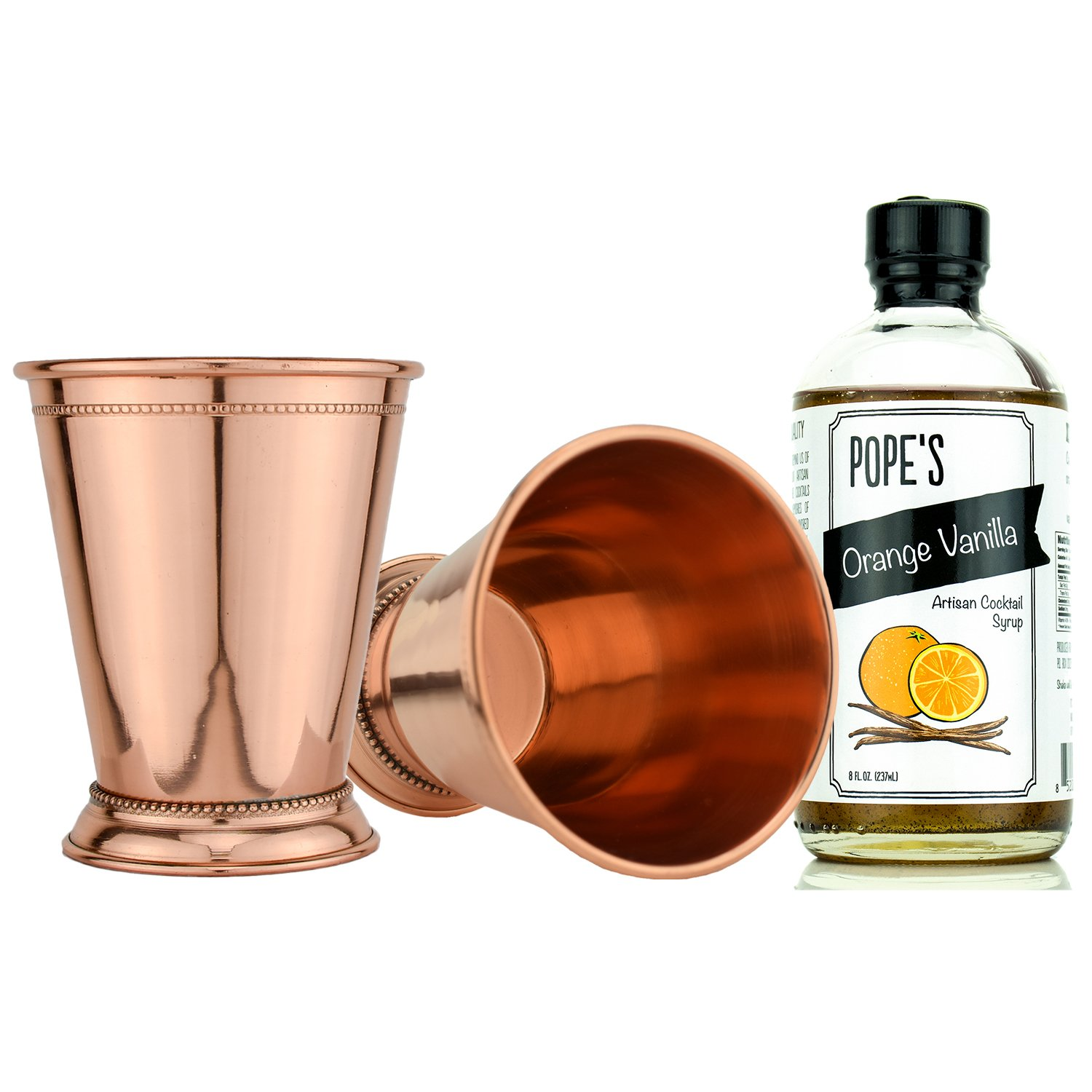 Prince of Scots Copper Julep Cocktail Gift Set ~ Orange Vanilla ~
