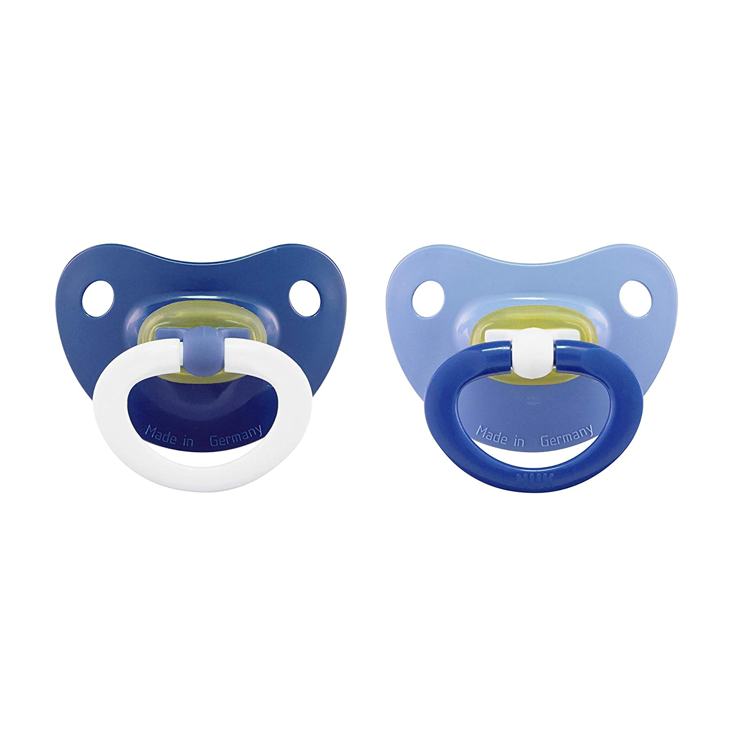NUK Latex Orthodontic Pacifiers, Girl, 18-36 Months, 2-Pack