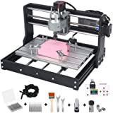 Upgraded Version 3018 Pro CNC Router Kit, mcwdoit GRBL Control 3 Axis DIY CNC Engraving Machine, Wood Acrylic Plastic PCB MDF