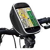 UBEGOOD Fahrrad lenkertasche, Handyhalter Fahrrad Tasche mit wasserdichte für iPhone 6s Plus/6 Plus/Samsung s7 edge andere bis zu 5,5 Zoll Smartphone