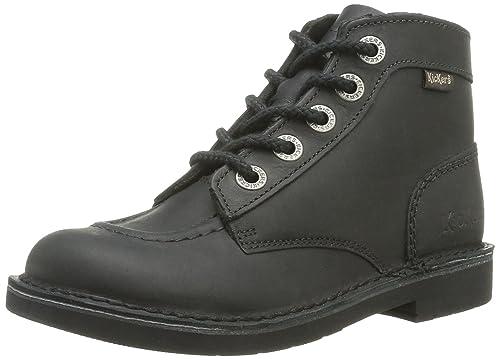 Kickers Orilegend, Zapatillas de Estar por Casa para Mujer, Negro (Noir Perm 8), 36 EU