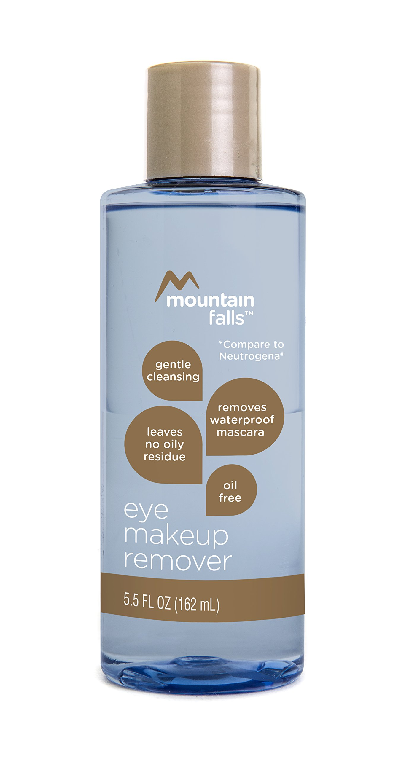 Mountain Falls Oil-Free Gentle Cleansing Eye Makeup Remover, Compare to Neutrogena, 5.5 Fluid Ounce (Pack of 4) by Mountain Falls (Image #2)
