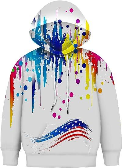 3D Printed Galaxy Fleece Hooded Sweatshirt for Womens Basic-Corona-Logo Pullover Hoodie