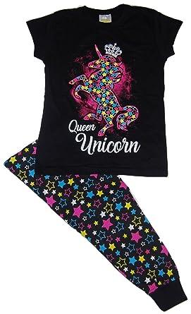 b0c81885e6 Girls Unicorn Pyjamas  Amazon.co.uk  Clothing