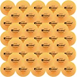 50-Pack KEVENZ 3-Star 40+ new material Table Tennis Balls,Advanced Training Ping Pong Balls (Practice ping-pong Ball)