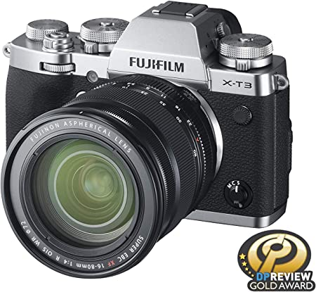 Fujifilm X-T3 Camera w/XF16-80mm Lens Kit -Silver product image 6