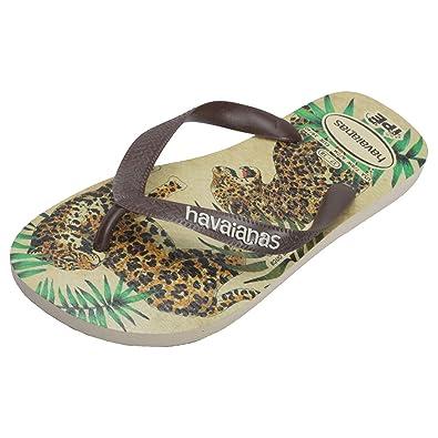 ca5d5209ef47 Havaianas Ipe Womens Flip Flops Beige Brown - 37-38