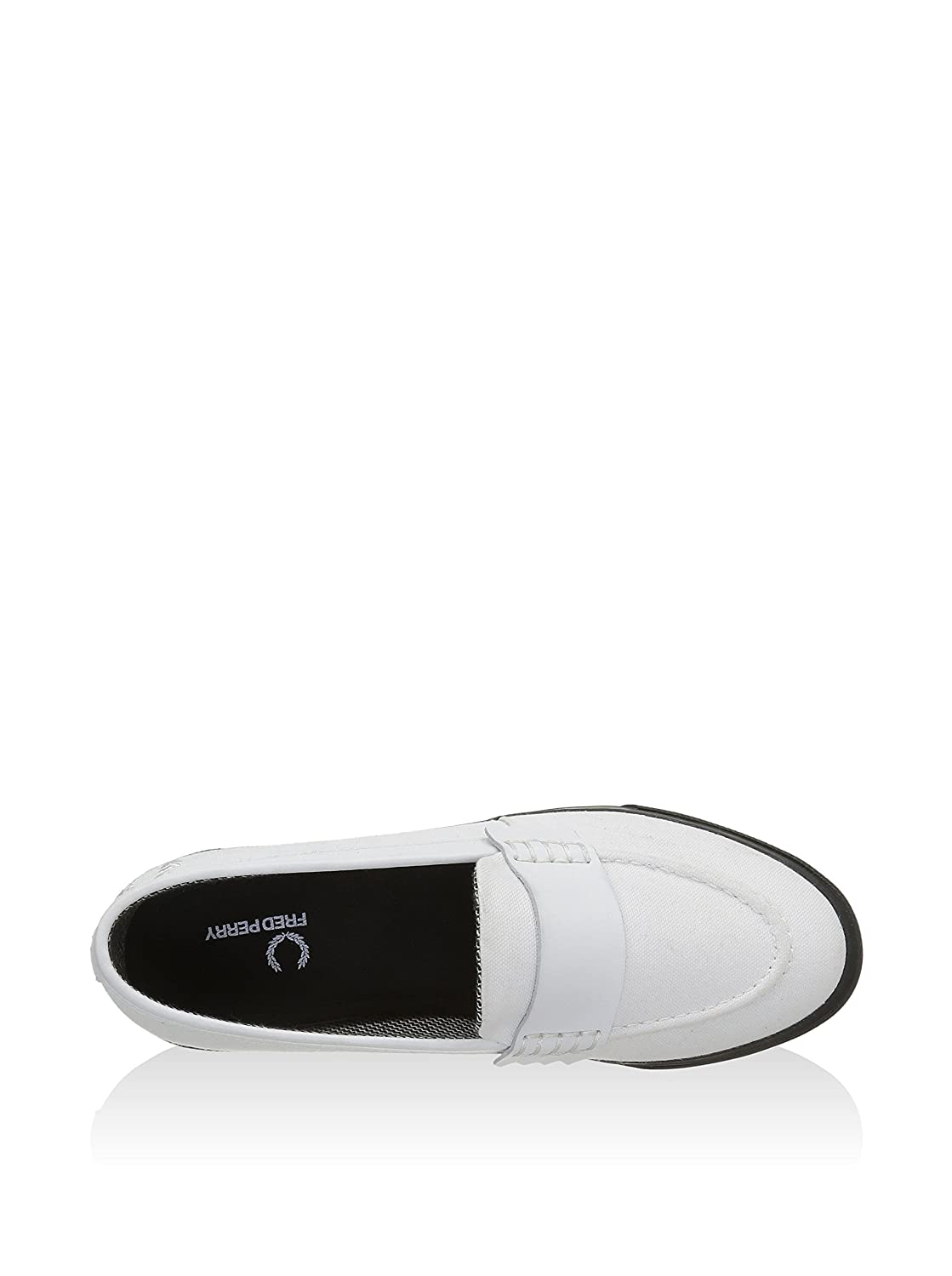 Fred Perry Mocasines Clásicos Fp Fenton/Blanco EU 37 (UK 4): Amazon.es: Zapatos y complementos