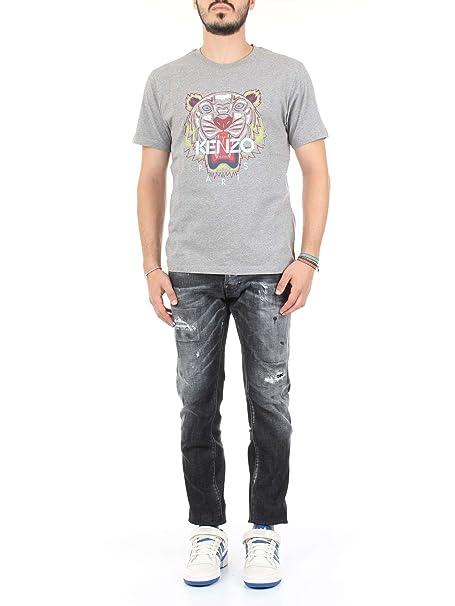 Kenzo - Camiseta - para Hombre Gris Gris (Paloma) X-Large: Amazon.es: Ropa y accesorios