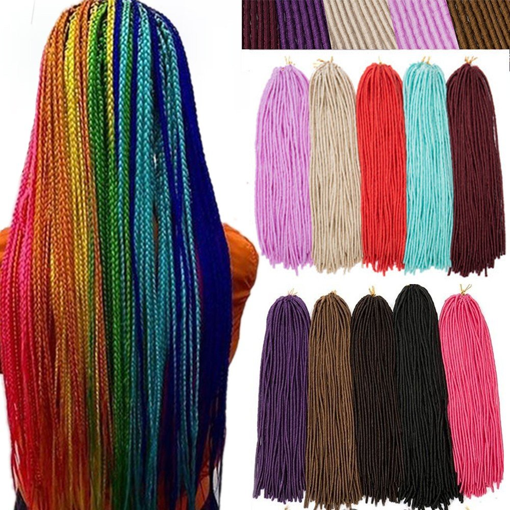 Amazon 100 Handmade Synthetic Dreadlocks 24 Inch Single