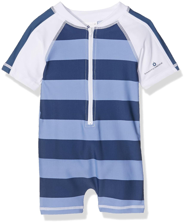 Snapper Rock Short Sleeve Baby Sun Suit