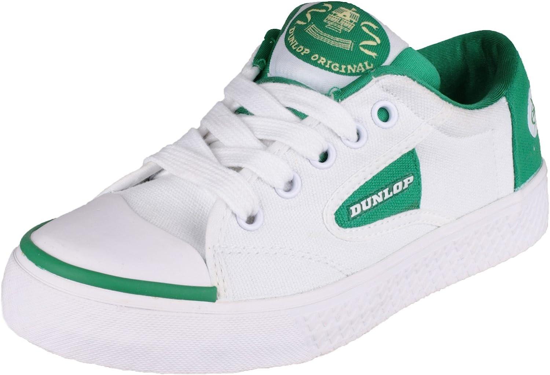 dunlop green flash womens trainers