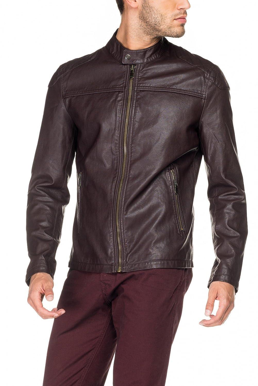 SALSA Leather racer jacket