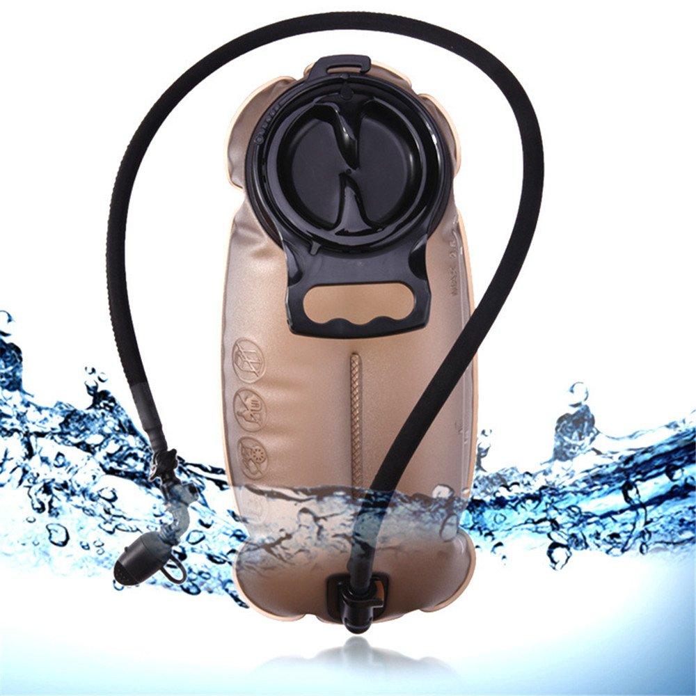 QAR Brauner Trinkwasserschlauchschlauch 2L des Großen Munds Mit Isolierungshahn hydratisierte Tasche (größe : 2.5L)