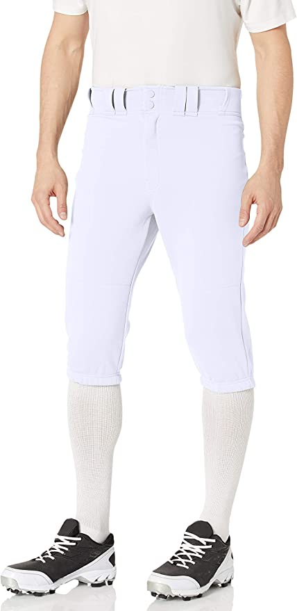 Amazon.com: EASTON PRO+ KNICKER Baseball Pant, Adult, Large, White: Clothing