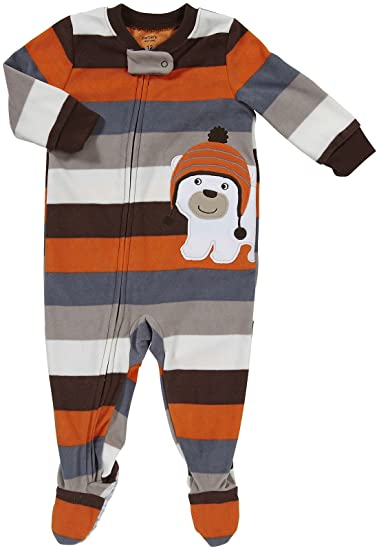 Amazon.com  Carter s Infant Footed Fleece Sleeper - Polar Bear w Hat-24  Months  Infant And Toddler Pajama Sets  Clothing 73051c40d