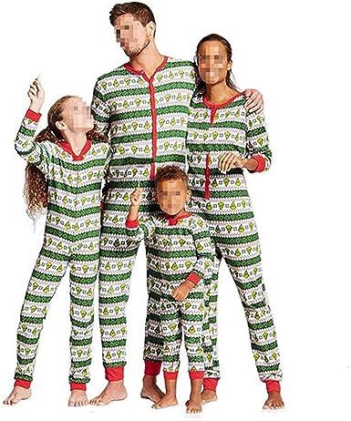 Conjunto de pijama de Navidad para hombre, mujer, diseño de ...