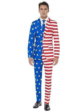 Suitmeister Ee.Uu. Juego Con La Bandera Americana De Impresión ...
