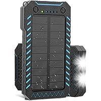 X-DRAGON 15000mAh Portable Power Bank with 2 USB Charging Ports (Black)