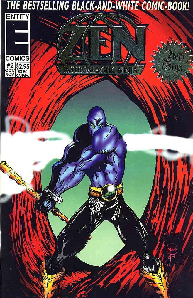 Amazon.com: Zen Intergalactic Ninja (6th Series) #2 VF/NM ...
