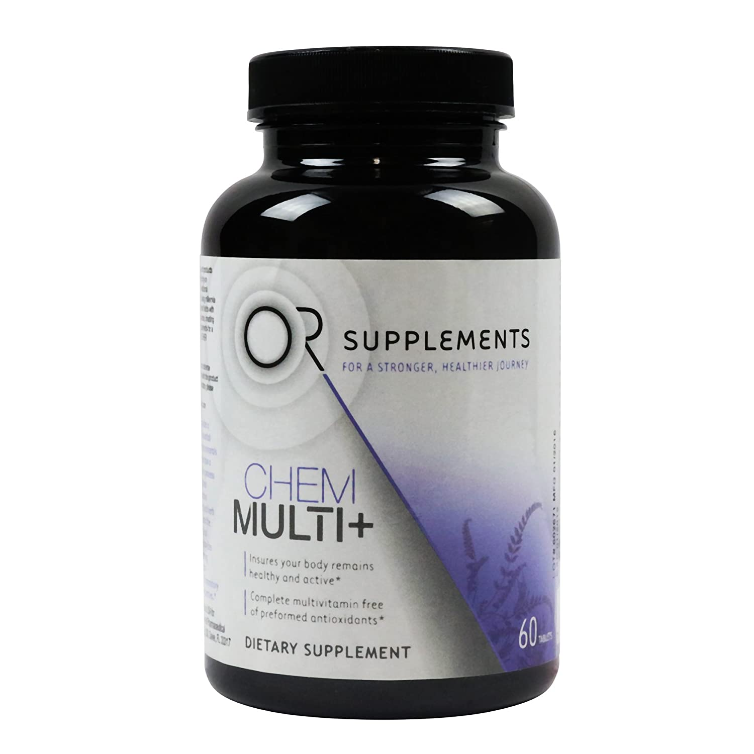 Or Supplements Chem Multi Plus 60 Tablets – Oncologist Developed Multivitamin – Supports the Immune System and Provides Optimal Nutrition Support