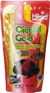 Hikari 8.8-Ounce Cichlid Gold Floating Pellets for Pets, Mini [2-Pack]