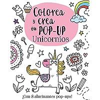 Colorea y crea tu pop-up. Unicornios (Castellano - A Partir De 3 Años - Manipulativos (Libros Para Tocar, Jugar Y Pintar…