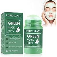 Green Tea Purifying Clay,Green Tea Solid Mask,Green Mask Stick,Deep Clean Pore,Blackhead Remover,Moisturizing…