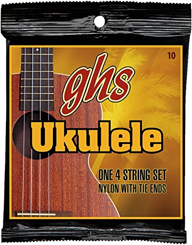 GHS Strings 10 Set, Hawaiian D-Tuning Ukulele Strings