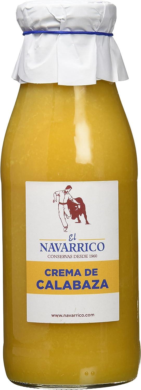 El Navarrico Crema de Calabaza - Paquete de 3 x 480 gr ...